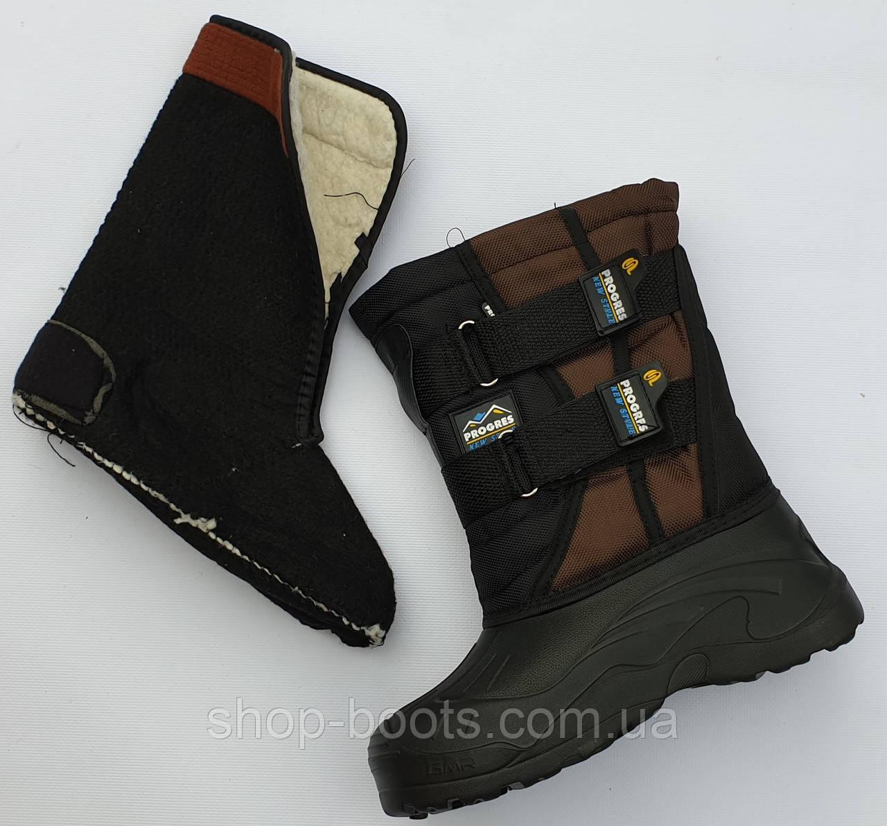 Подростковые сапоги аляска со теплой вставкой. 36-41рр. Модель аляска подросток 6