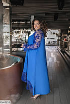 Сукня БАТАЛ мереживо в кольорах 1605091, фото 2