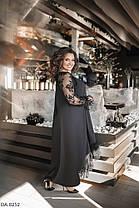 Сукня БАТАЛ мереживо в кольорах 1605091, фото 3