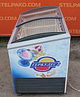 """Морозильний лар """"Caravell"""" (Данія), корисний об'єм 305 л, гнуте скло, Б/в, фото 6"""