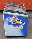 """Морозильний лар """"Caravell"""" (Данія), корисний об'єм 305 л, гнуте скло, Б/в, фото 5"""