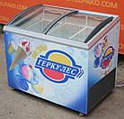 """Морозильний лар """"Caravell"""" (Данія), корисний об'єм 305 л, гнуте скло, Б/в, фото 4"""