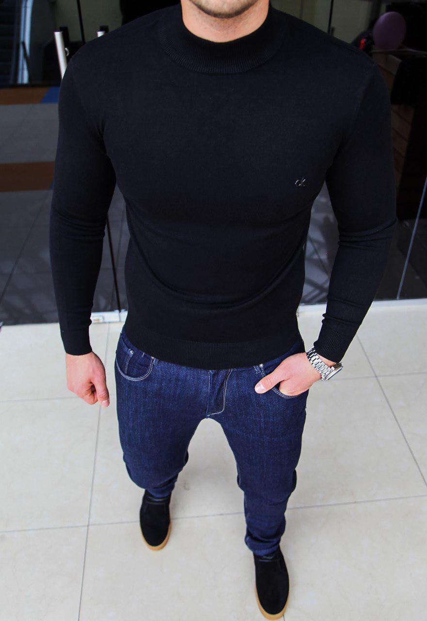 Мужской гольф Calvin Klein H0096 черный