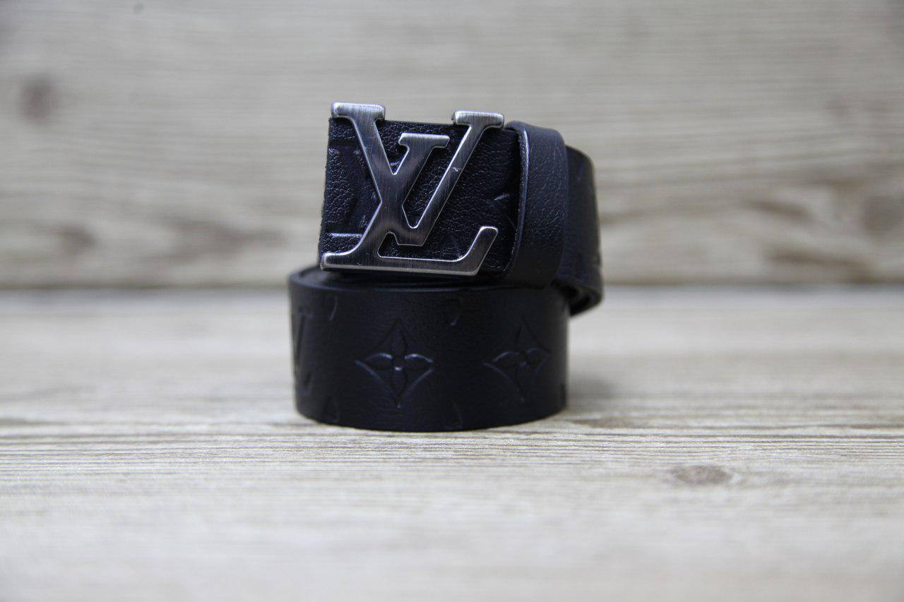 Ремень мужской Louis Vuitton H0076 черный
