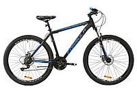 "Велосипед AL 27.5"" Formula MOTION AM DD рама-17"" серо-синий (м) 2020"
