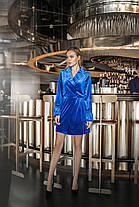 Платье   бархат в расцветках 165095, фото 2