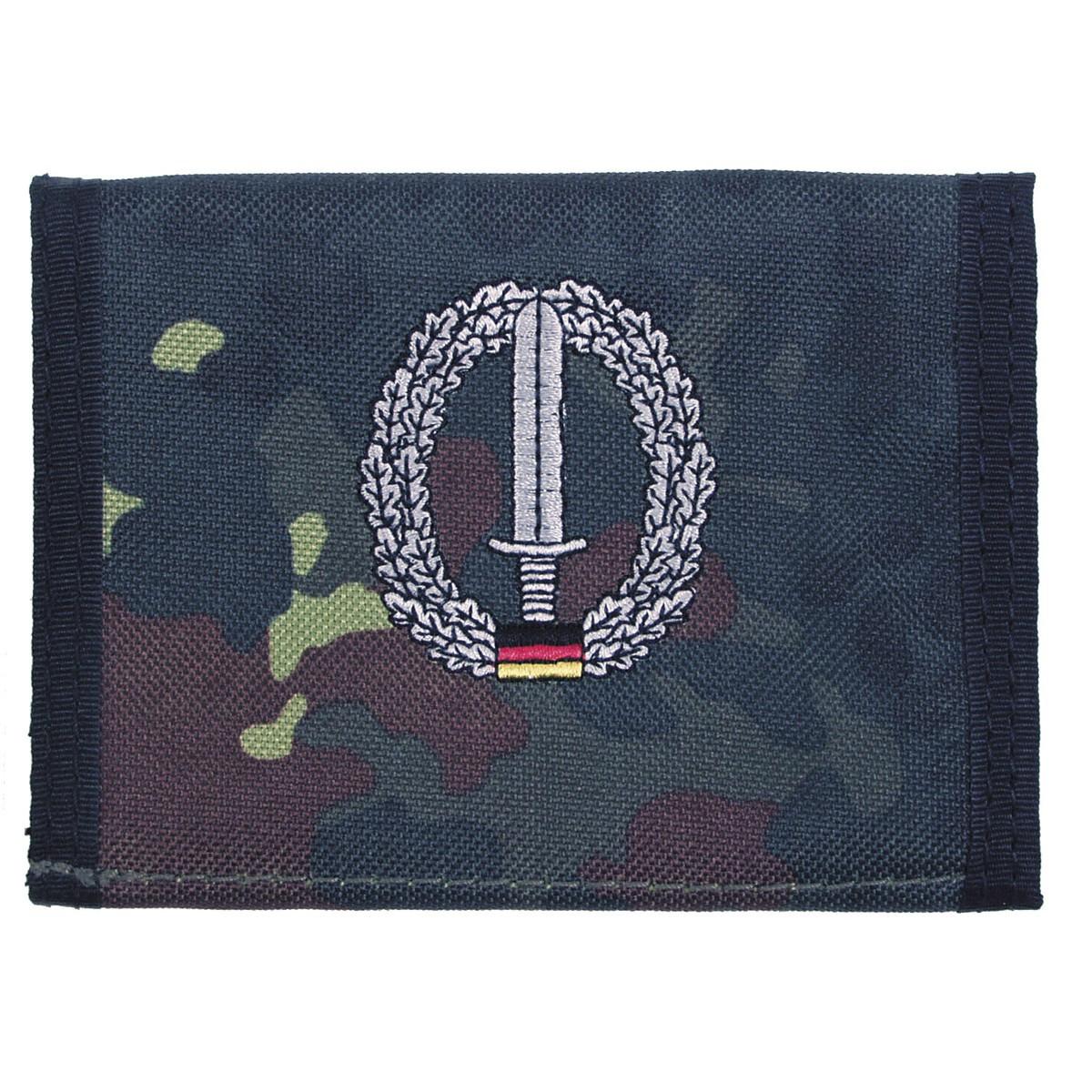 Бумажник «Бундесвер» флектарн с эмблемой «командование специальных сил» MFH
