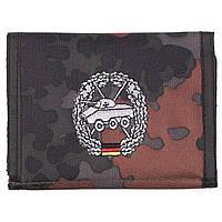 Бумажник «Бундесвер» флектарн с эмблемой «танко-разведывательные части» MFH