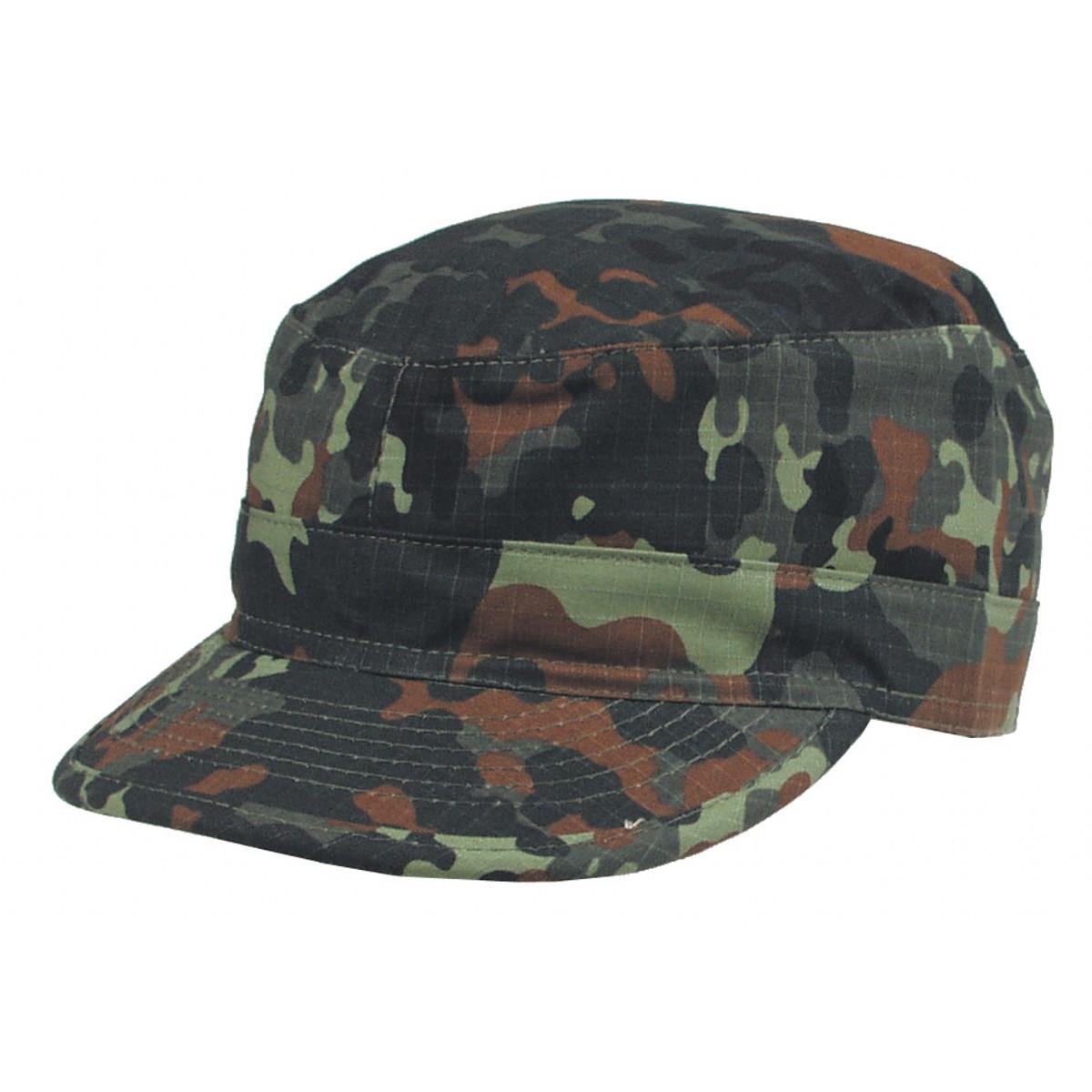 Армейская кепка US BDU Rip Stop флектарн MFH