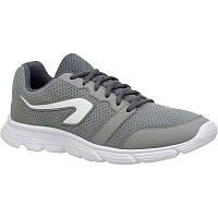 Кроссовки для бега мужские серые Kalenji Run One, фото 1