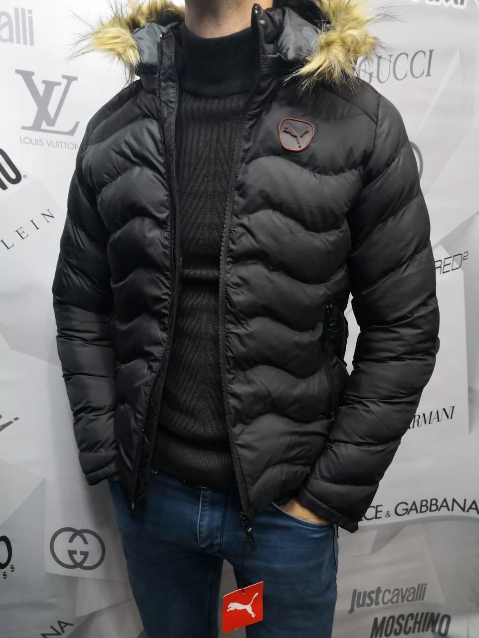 Куртка мужская Puma D8534 черная