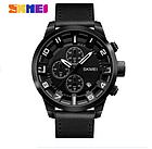 Мужские часы Skmei (Скмей)1309 Braun / Black / Red, фото 5