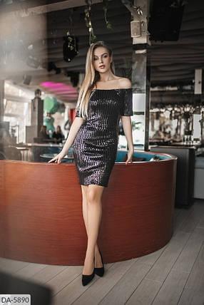 Платье пайетка 165087, фото 2