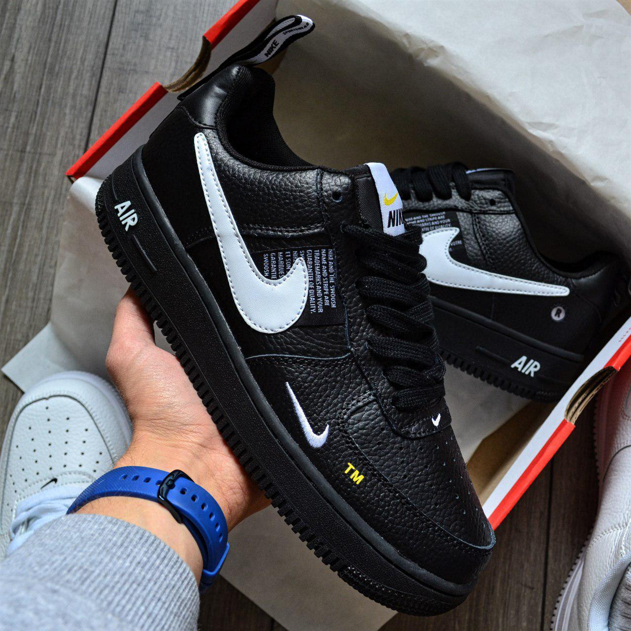 Кроссовки мужские Nike Air Force 1 07 Low LV8 D8432 Black