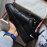 Кроссовки мужские Nike Air Force 1 07 Low LV8 D8432 Black, фото 2