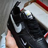Кроссовки мужские Nike Air Force 1 07 Low LV8 D8432 Black, фото 5