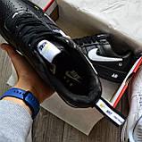 Кроссовки мужские Nike Air Force 1 07 Low LV8 D8432 Black, фото 6