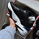 Кроссовки мужские Nike M2K D8435 Black & White, фото 2