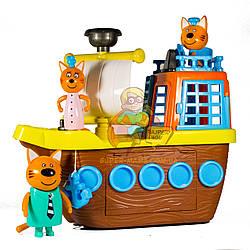 """Игровой набор """"Три Кота с кораблем"""" 8810"""
