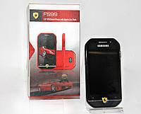 Стильный мобильный телефон Ferrari Samsung F599 dual sim феррари на 2 сим-карты