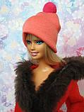 Одежда для кукол Барби - шапочка, фото 4