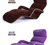 """Кресло трансформер с подлокотниками """"Велюр"""". Фиолетовое. (C3)"""