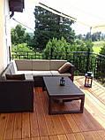 Набір садових меблів Provence Lyon Set зі штучного ротанга ( Allibert by Keter ), фото 4