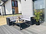 Набор садовой мебели Provence Lyon Set из искусственного ротанга ( Allibert by Keter ), фото 8