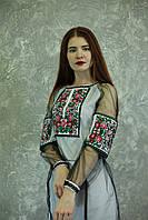 "Жіноче вишите плаття ""Ангеліна"" (Женское вышитое платье ""Ангелина"") PJ-0021"