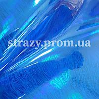 Винил формат А4 Голубой голограмма (зебра Z06)