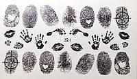 Наклейки  для дизайна ногтей Adore Professional   321