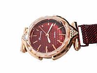 Часы кварцевые  Rinnady с камнями на  магнитном браслете .Бордовый.