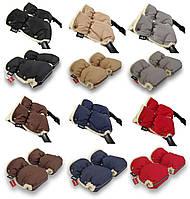 Муфты рукавички Zdrowe Dziecko (Z&D Польша) для рук мамы на коляску на овчине зимние муфта для коляски к