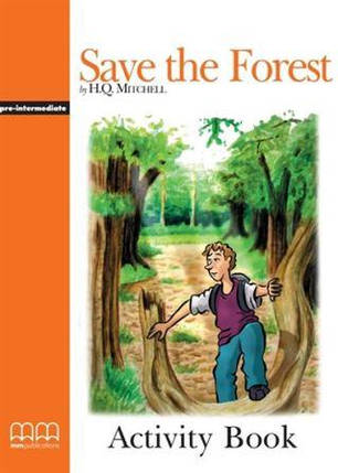 Graded Readers 3 Save the Forest Activity Book, фото 2
