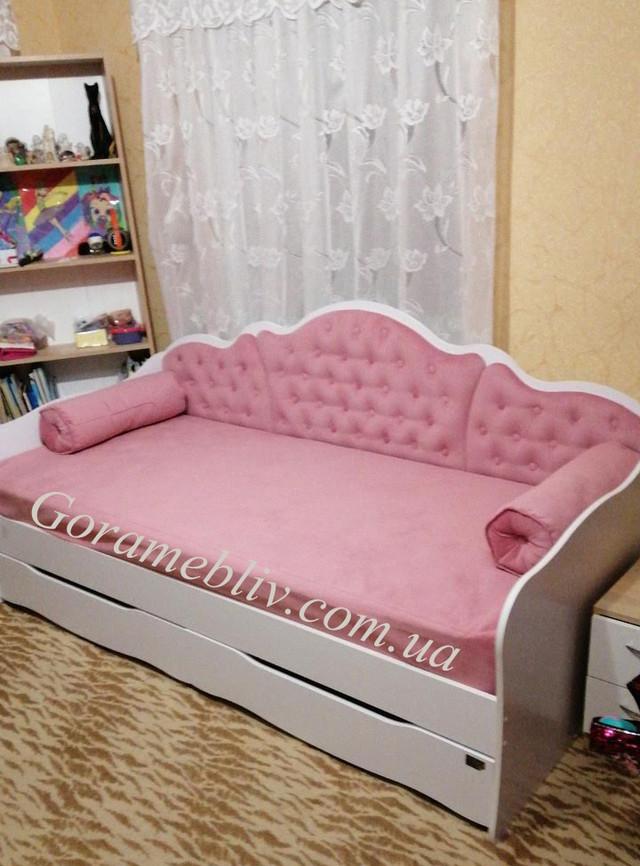 На фото: детская и подростковая кровать Л-6, фото наших клиентов