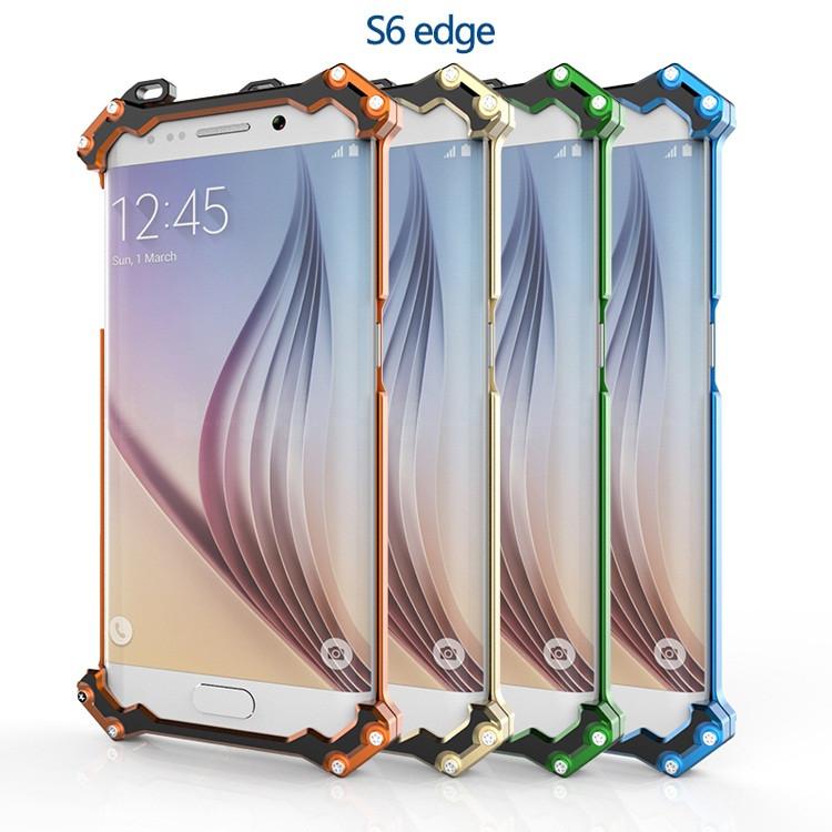 """Samsung S6 G920 металлический алюминиевый чехол бампер панель рамка для телефона """"R-JUST"""""""