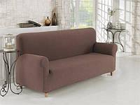 Чехол на диван Кофейный Home Collection Karna Турция 50122