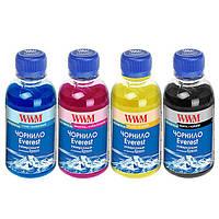 Комплект чернил WWM EVEREST для Epson Пигментные 4х100г BP/CP/MP/YP (EP02SET-4)