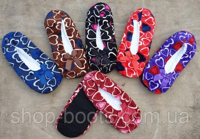 Жіночі кімнатні капці-теплі шкарпетки. 35-42рр, фото 2