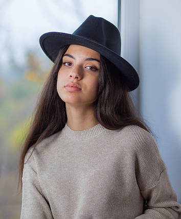 Шляпа ковбойка черная, фото 2