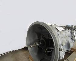 КПП-2381 с демультипликатором (1 диск.сцепл.,вал 50мм, фланец 4 отв.) (пр-во г. Тутаев)