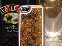 Чехол для iPhone 5 5S жидкий с блестками, фото 1