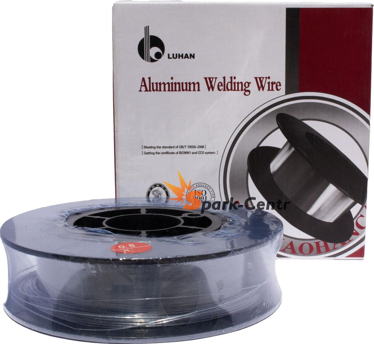 Алюминиевая сварочная проволока ER 5356(Св-АМг5) 0,8 мм (упаковка - 0,5 кг)