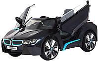 Электромобиль ROLLPLAY BMW i8 SPYDER 12V, RC, black