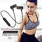 Беспроводные вакуумные наушники JBL T180A Bluetooth магнитные с микрофоном гарнитура микрофон телефон блютуз, фото 2