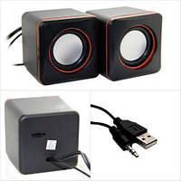 Компьютерные колонки акустика USB 2.0 G101