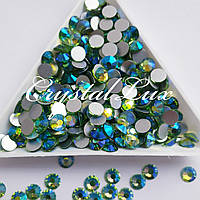 "Стразы ss16 Peridot AB (4,0мм) 1400шт ""Crystal Premium"""