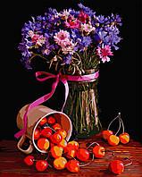 """Картина за номерами """"Квітковий натюрморт"""" 40*50см"""