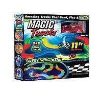 Мэджик Трек Magic Tracks Оригинал 220деталей, Игрушечная гоночная трасса
