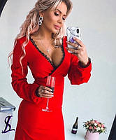 Платье романтическое с кружевом, фото 1